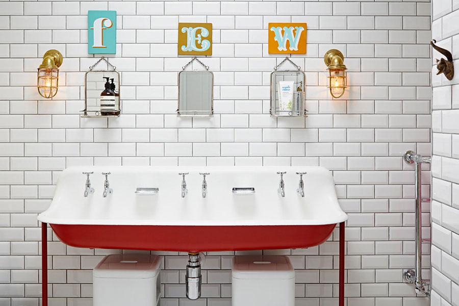 Idee per arredare un bagno vintage n.05