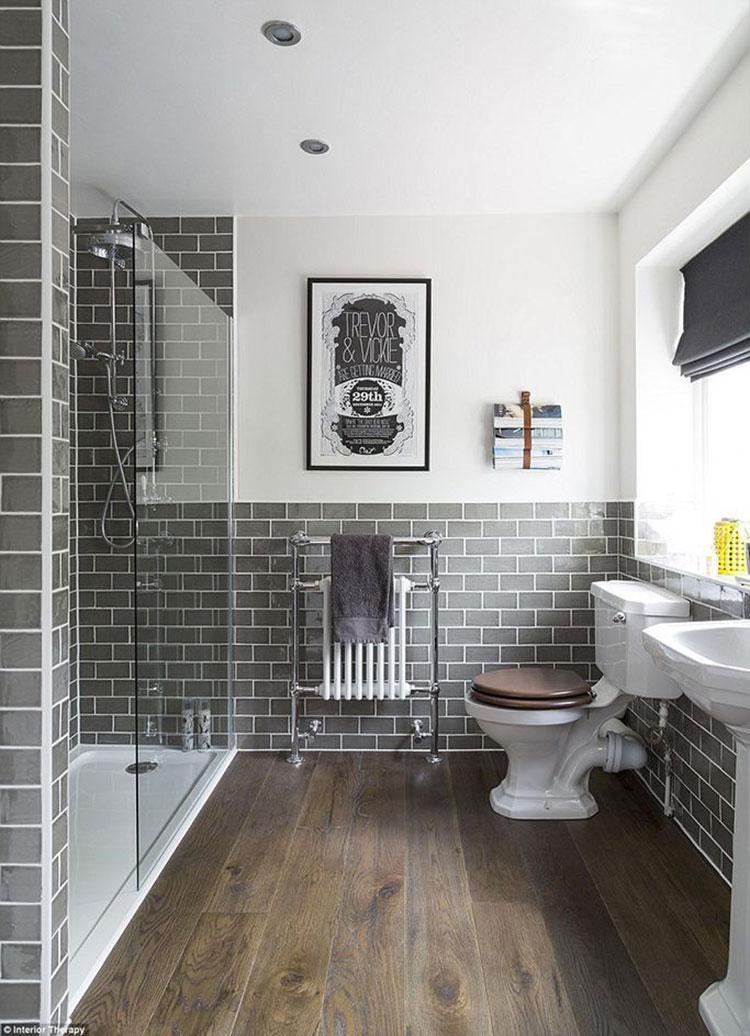 Idee per arredare un bagno vintage n.06