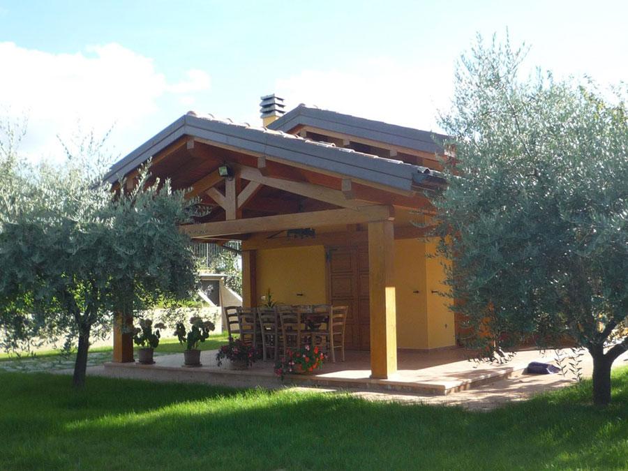 Costruttori di case in legno della toscana for Design eco casa verde