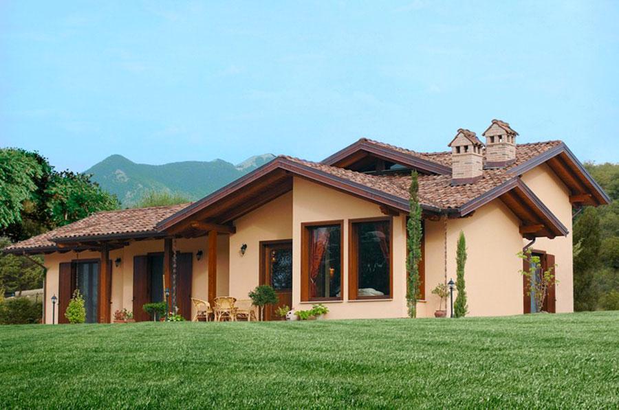 Costruttori di case in legno della toscana for Immagini di case