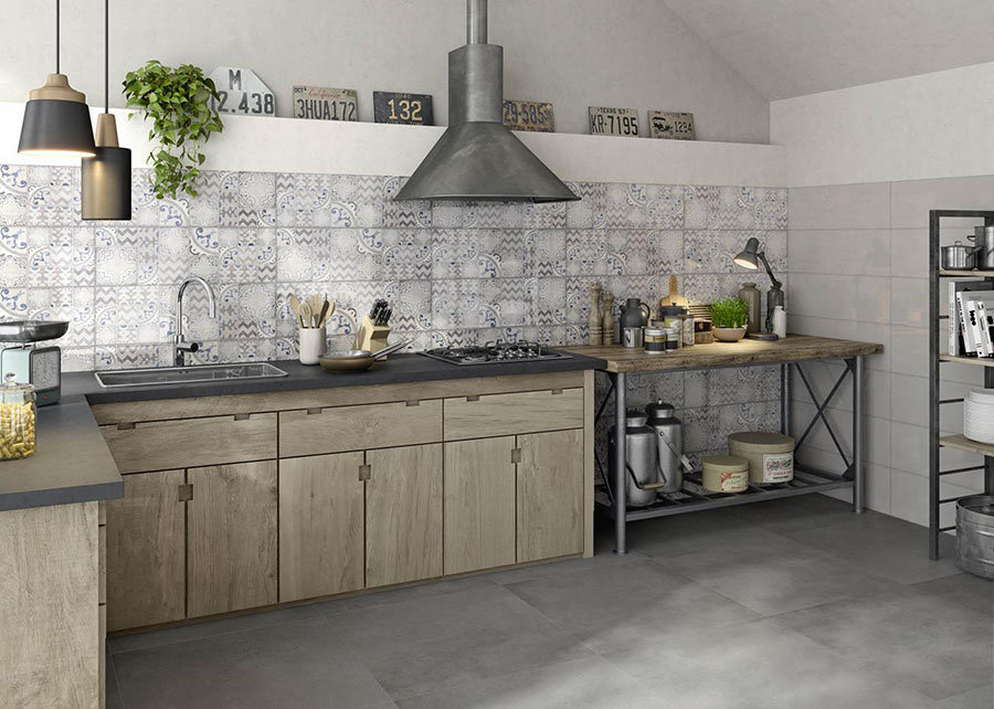 Cementine in Cucina: 20 Idee per Rivestimenti Vintage | MondoDesign.it
