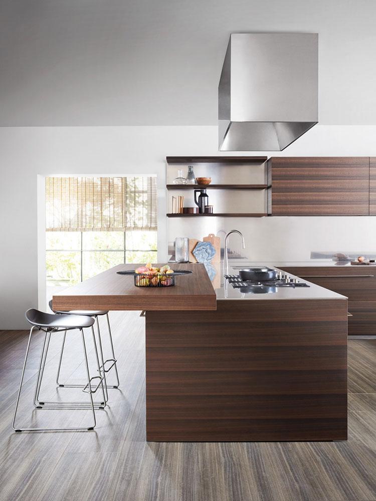 Modello di cucina lineare di design di Dada n.3