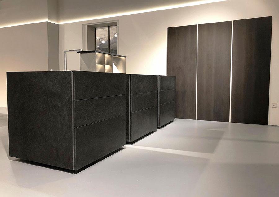 Modello di cucina lineare di design di Sio 4 n.5