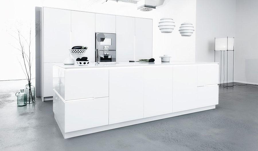 Modello di cucina lineare di design di Sio 4 n.6