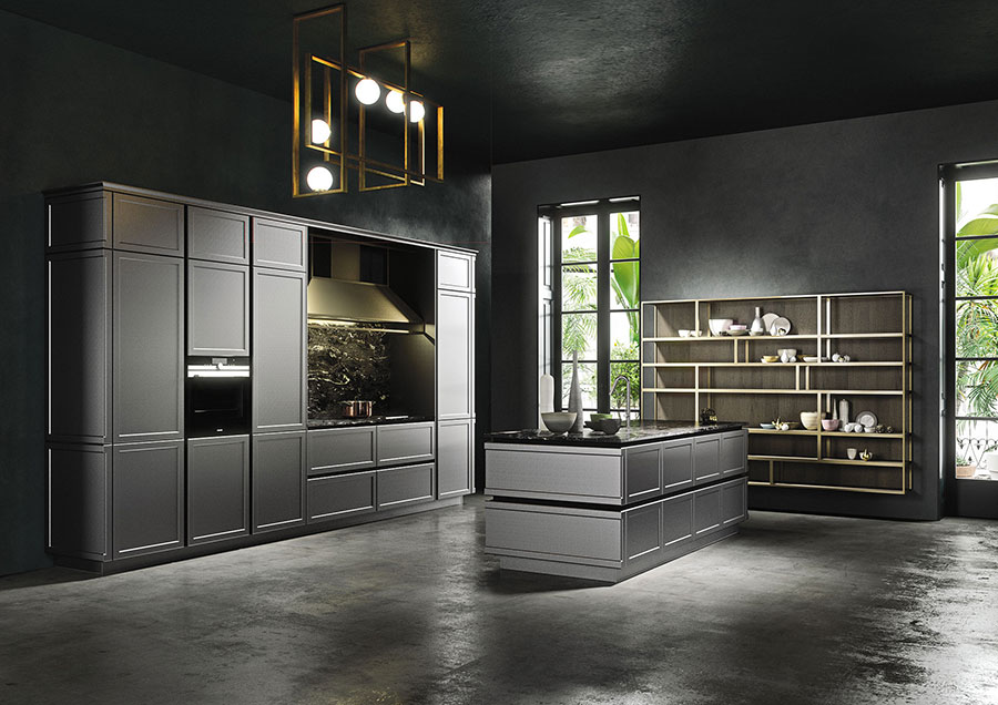 Modello di cucina lineare di design di Snaidero n.2