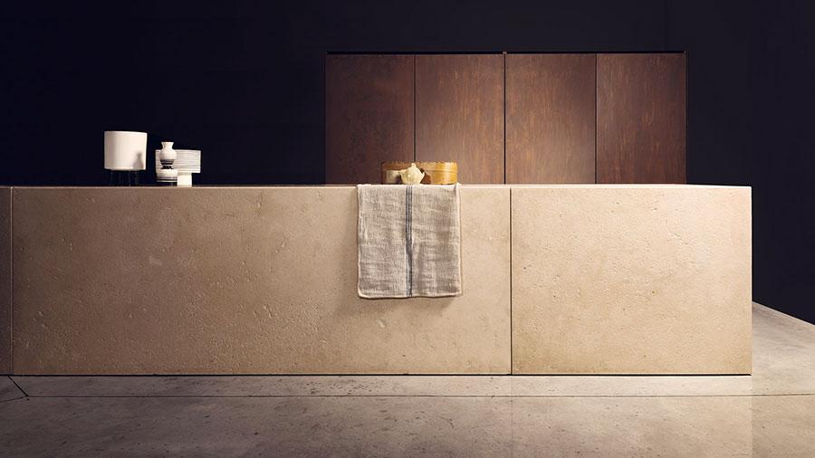Modello di cucina lineare di design di TM Italia n.1