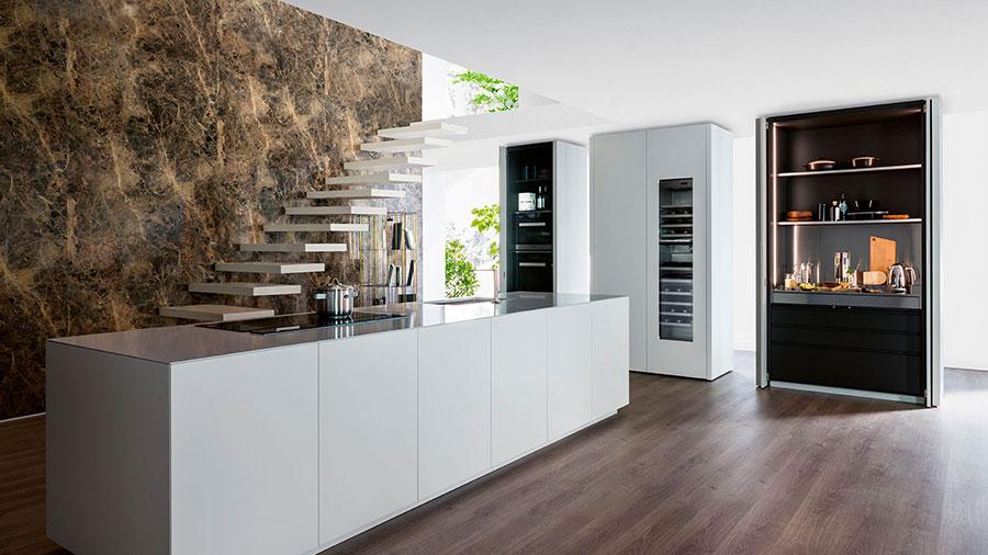 Modello di cucina lineare di design di TM Italia n.4
