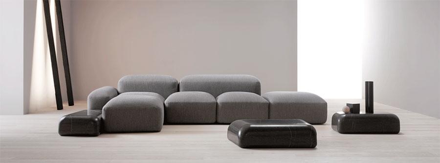 Modello di divano Amura