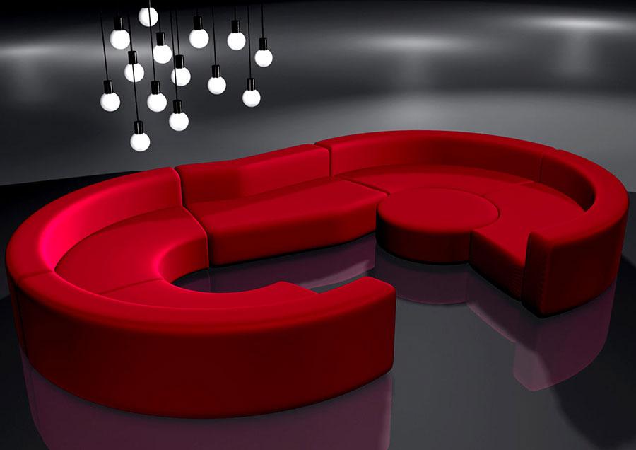 Modello di divano Giovannetti