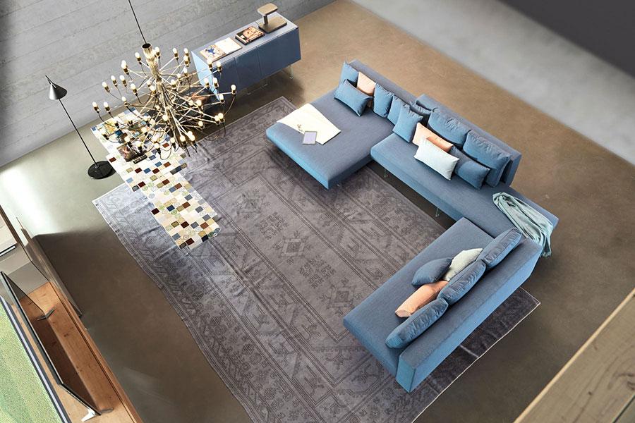 Modello di divano Lago