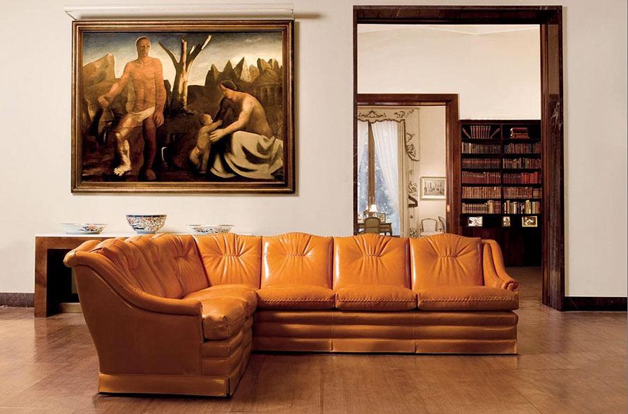 Modello di divano di lusso Mascheroni n.02