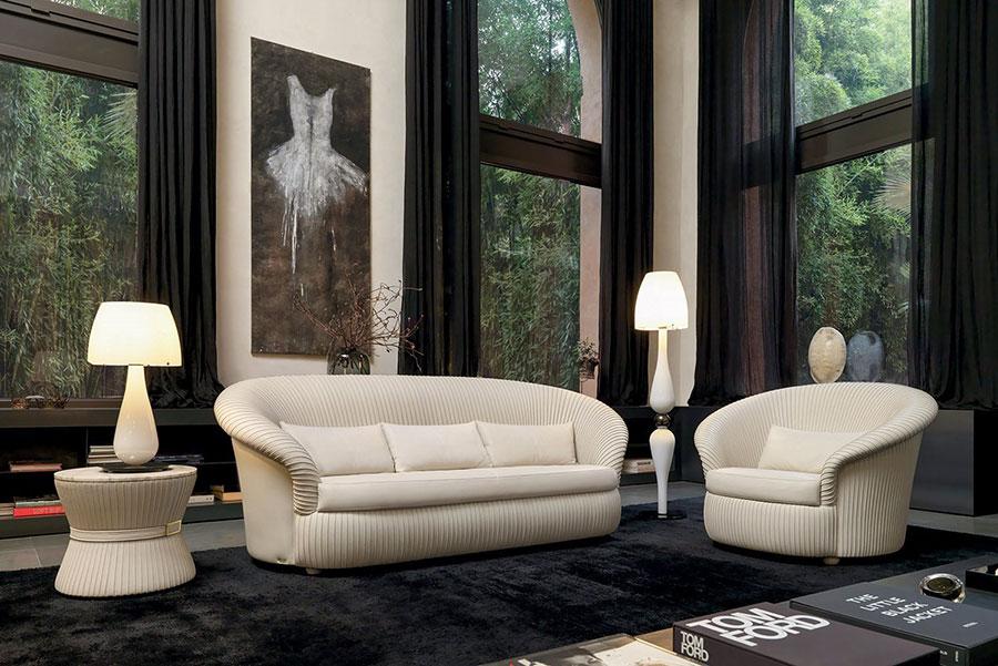 Modello di divano di lusso Mascheroni n.03