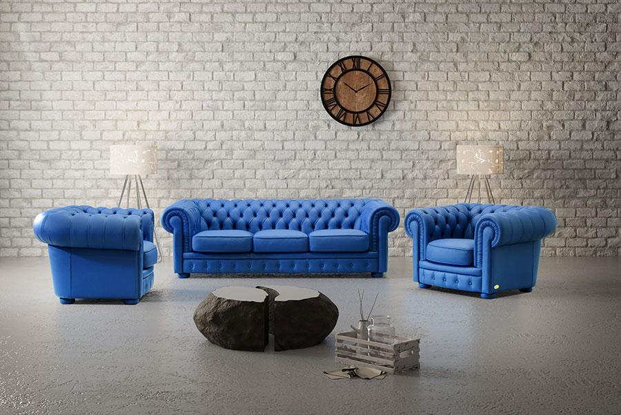 Modello di divano di lusso Ped Artigiani Italia n.01