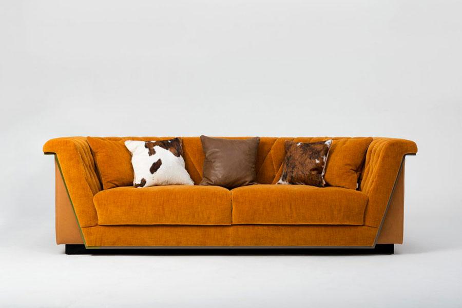 Modello di divano di lusso Mantellassi n.1