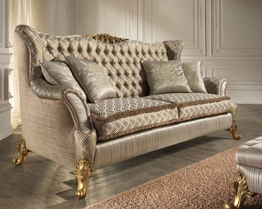 Modello di divano di lusso Ravasi Salotti n.1