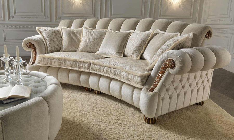 Modello di divano di lusso Ravasi Salotti n.2