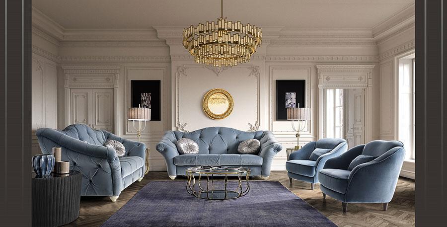 Modello di divano di lusso BM Style n.2