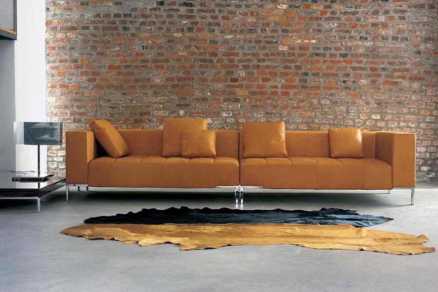 Modello di divano Zanotta