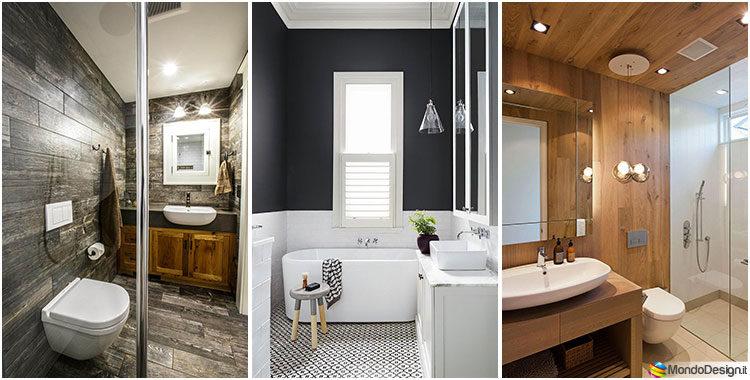 Come arredare un bagno piccolo: 24 idee e soluzioni per diversi