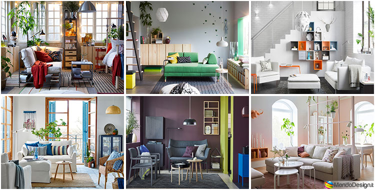 Arredare il soggiorno con ikea tante idee per diversi for Idee per dipingere il soggiorno