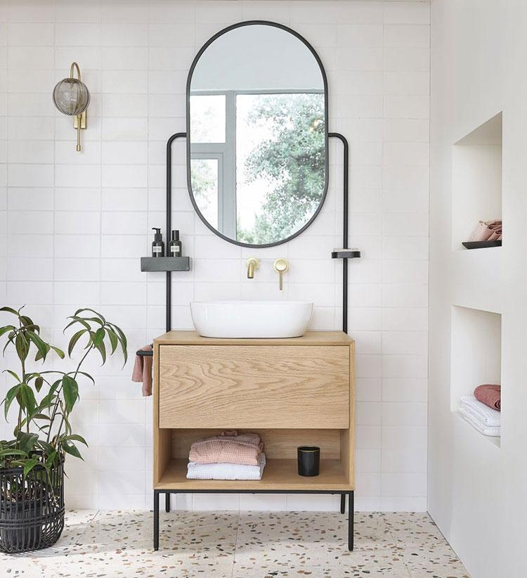 Idee mobile bagno vintage n.01