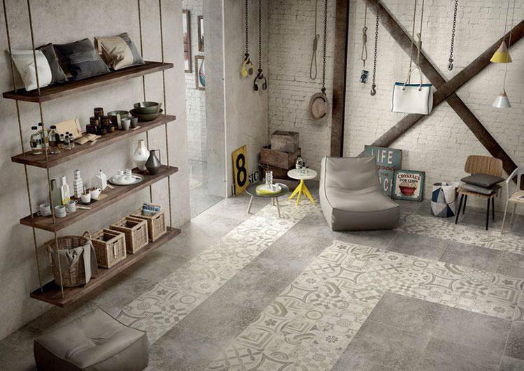 Idee per pavimento in cementine n.22