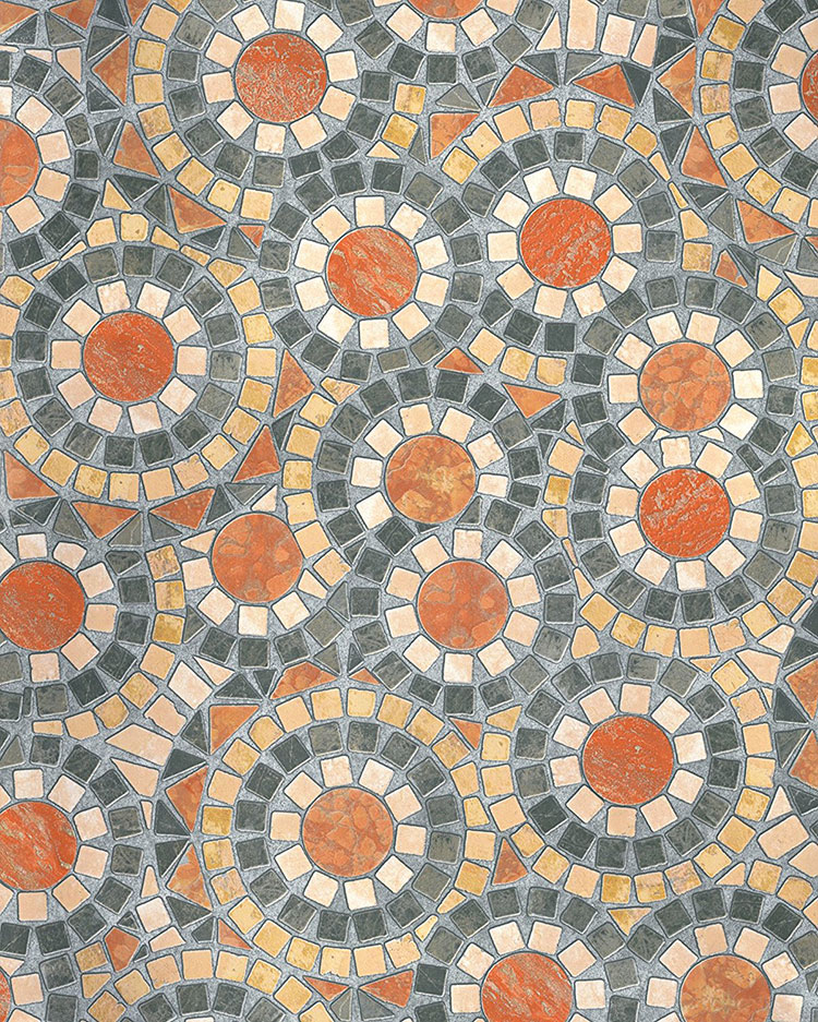 Modello di piastrelle adesive per cucina effetto mosaico n.08