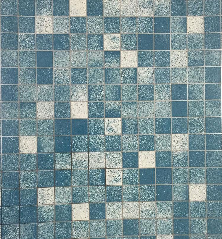 Modello di piastrelle adesive per cucina effetto mosaico n.09