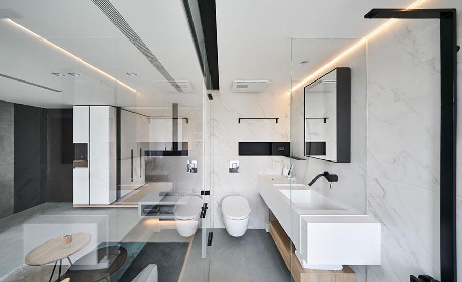 Arredamento per una piccola casa open space 11