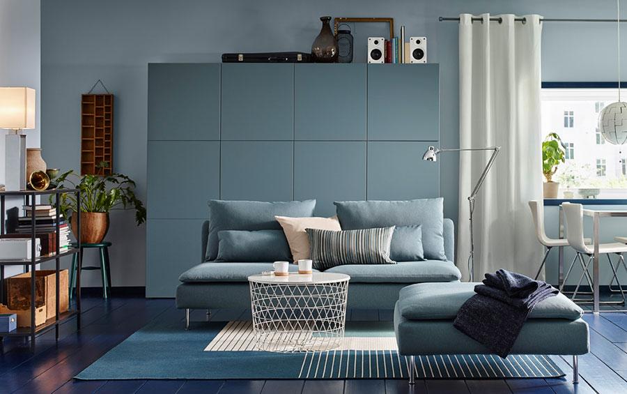 Arredare il soggiorno con ikea tante idee per diversi stili - Soggiorno moderno ikea ...