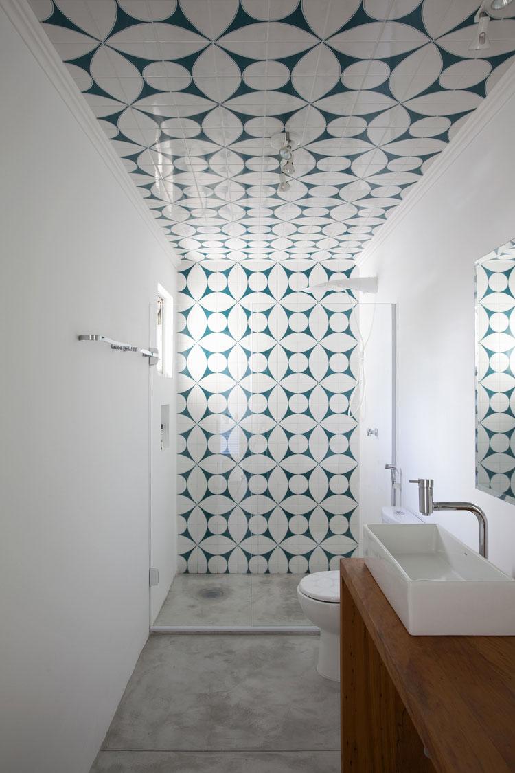 Decorazioni per pareti di un bagno piccolo n.01