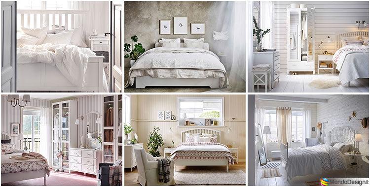 Immagini Camere Da Letto Romantiche : Camera da letto shabby chic ikea tante idee per arredi romantici
