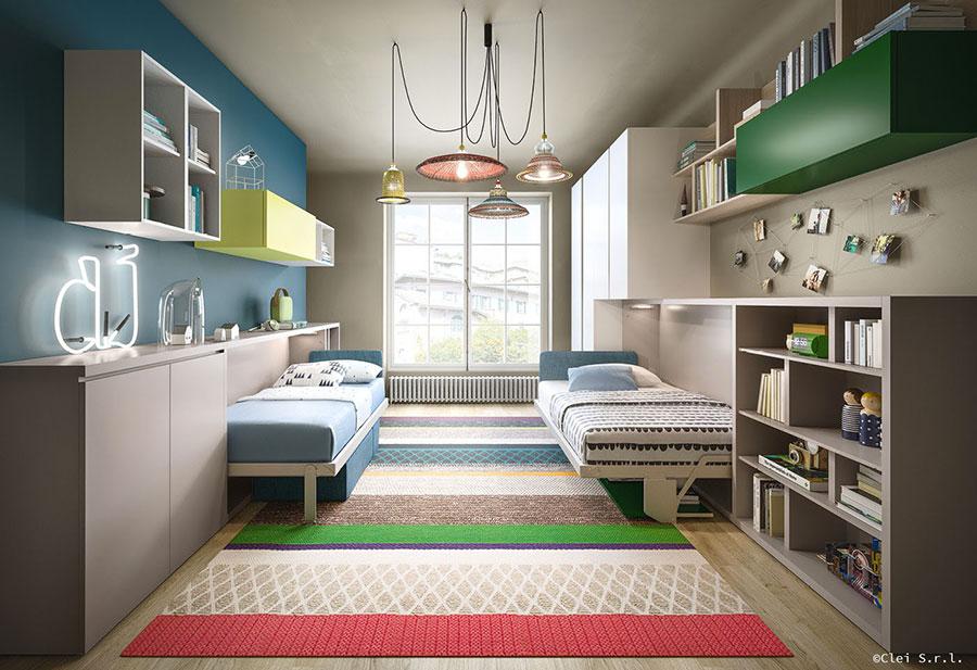 Camerette con letti a scomparsa ecco i migliori modelli - Ikea catalogo letti a scomparsa ...
