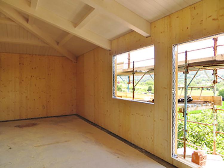 Casa prefabbricata in legno di Rubechi