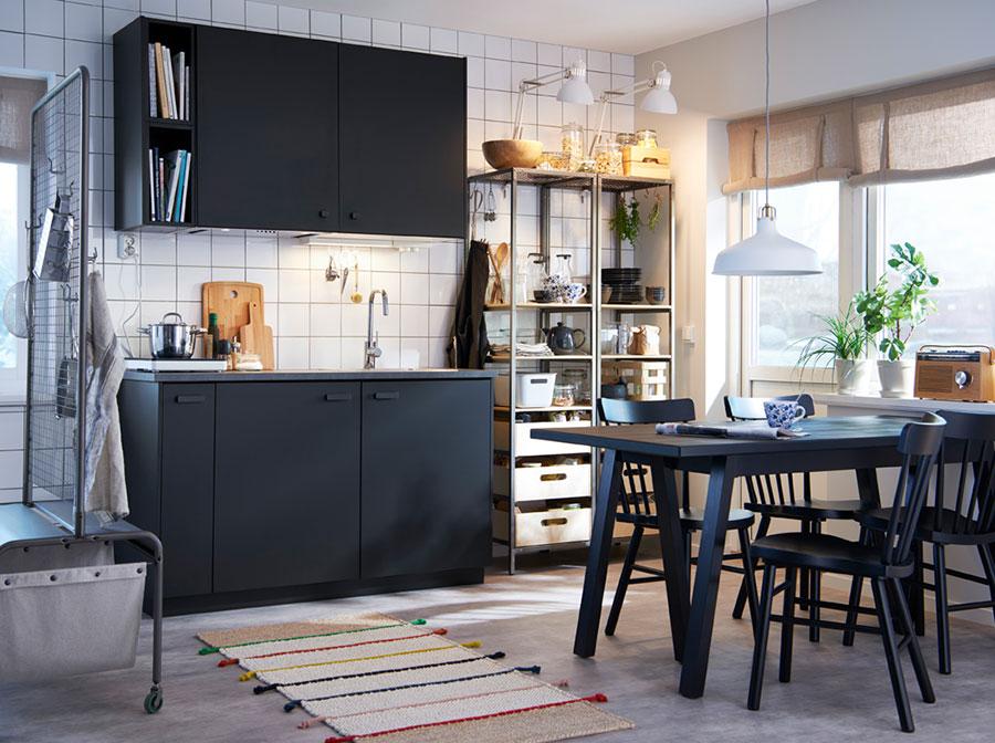 Modello di cucina per monolocale di Ikea n.2