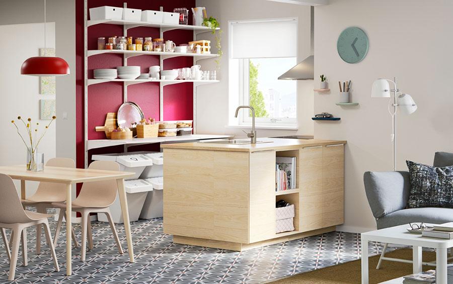 Modello di cucina per monolocale di Ikea n.4