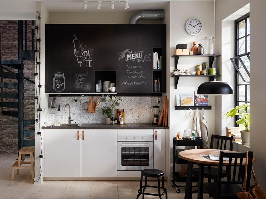 Modello di cucina per monolocale di Ikea n.5