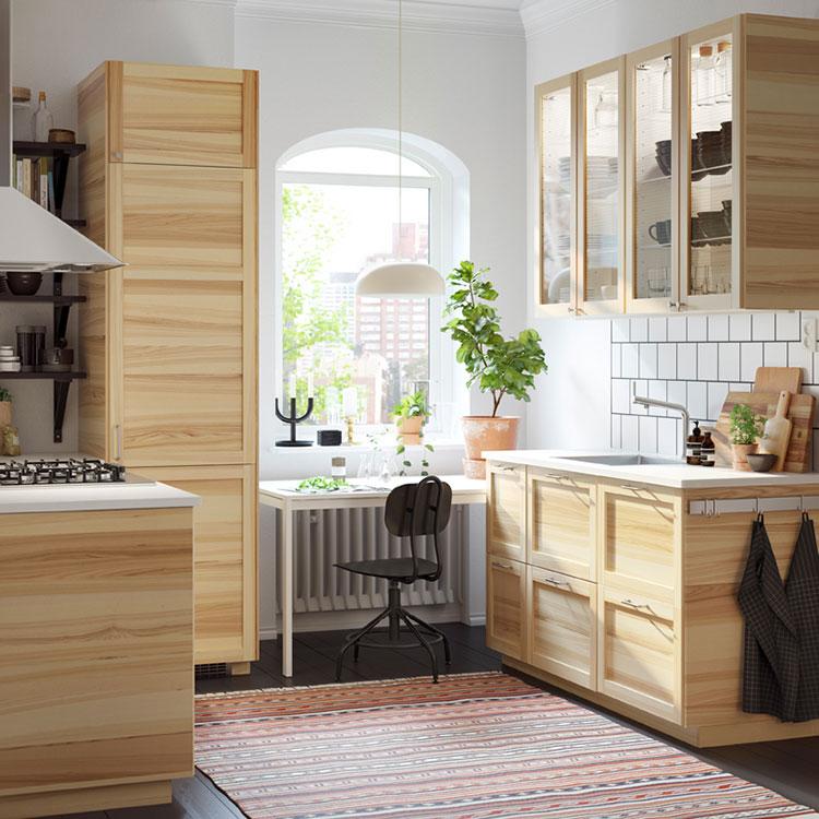 Modello di cucina per monolocale di Ikea n.6