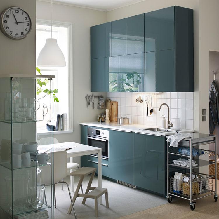 Modello di cucina per monolocale di Ikea n.7