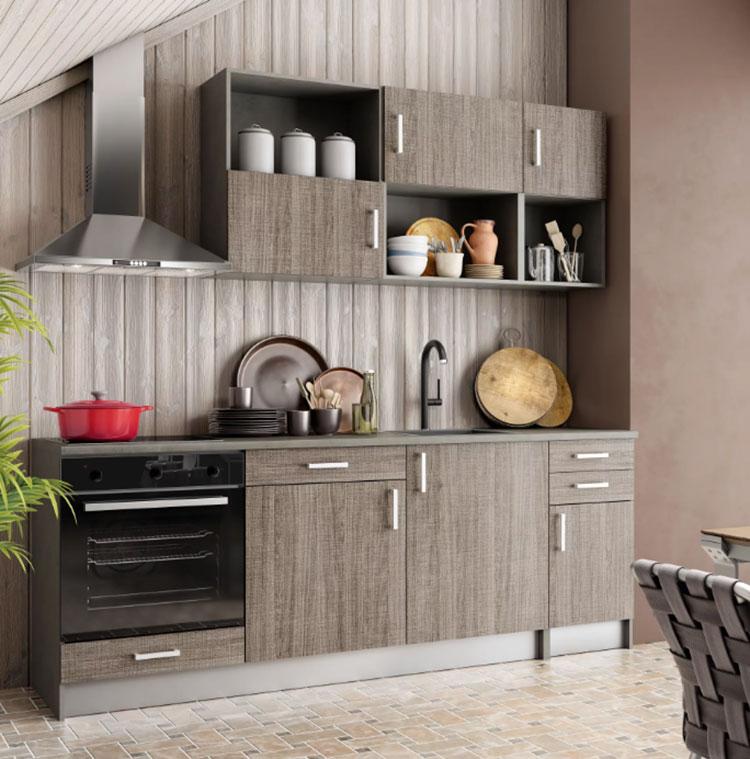 Cucine per monolocale tante idee per un arredamento - Piano cucina leroy merlin ...