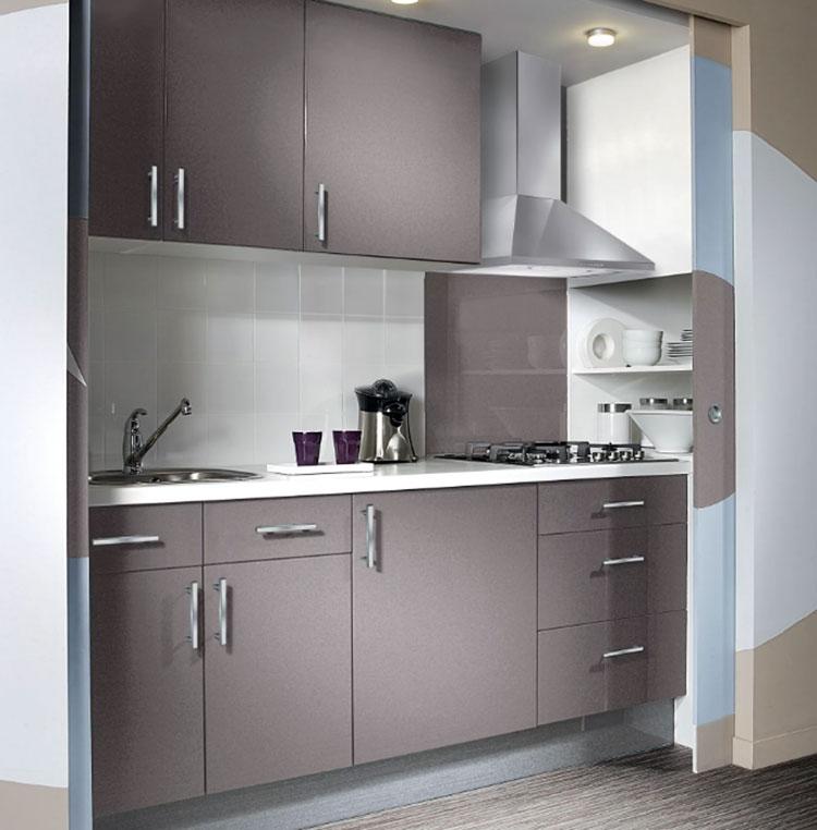 Modello di cucina per monolocale di Leroy Merlin n.4