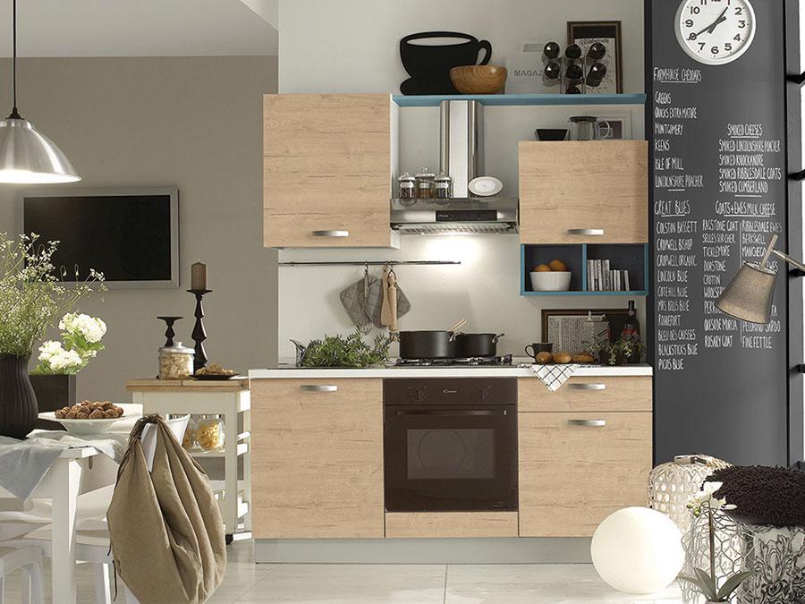 Modello di cucina per monolocale di Mercatone Uno n.2