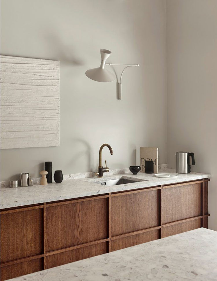 Idee illuminazione per cucine senza pensili n.02