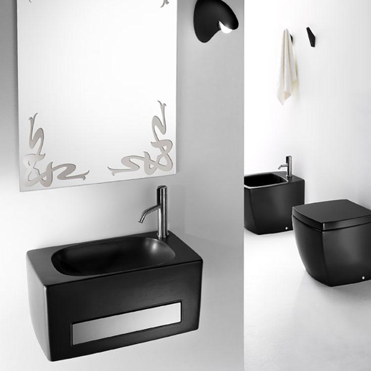 Modello di lavabo nero n.1