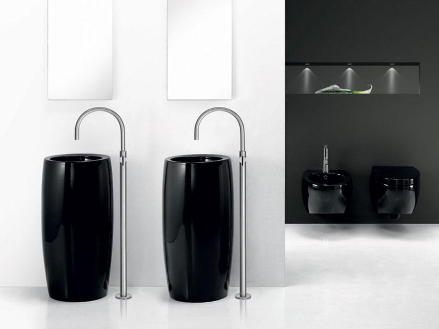 Modello di lavabo nero n.3