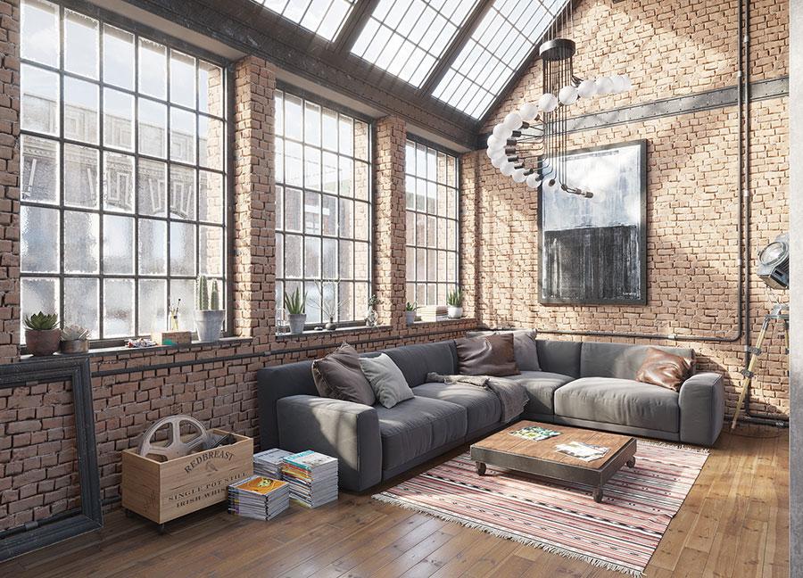 Idee di arredamento per un loft in stile americano n.03