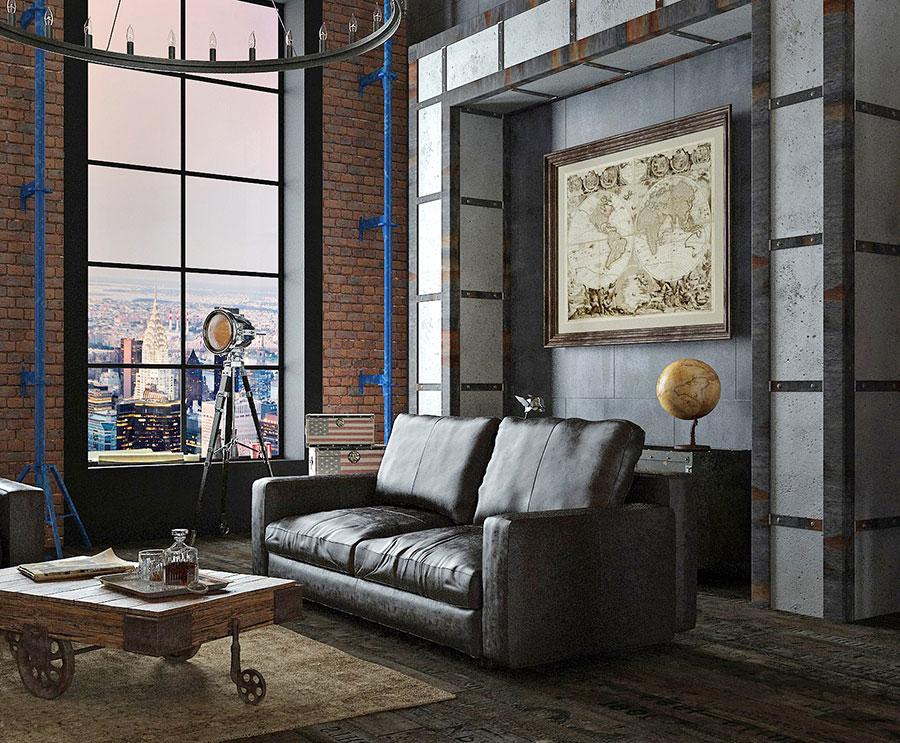 Idee di arredamento per un loft in stile americano n.04
