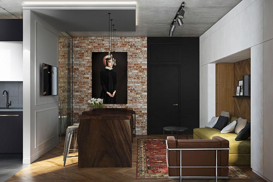 Idee di arredamento per un loft in stile americano n.08
