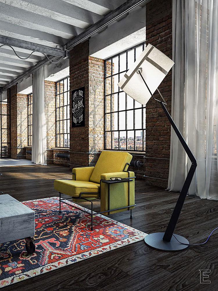 Loft stile americano tante idee di arredamento originali for Idee di arredamento