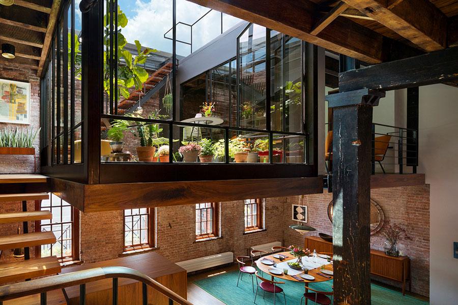 Idee di arredamento per un loft in stile newyorkese n.02